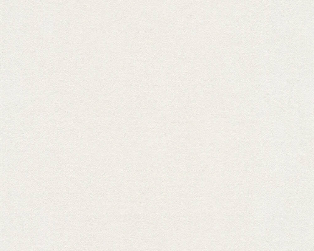 A.S. Création papier peint Uni, blanc, crème 372624