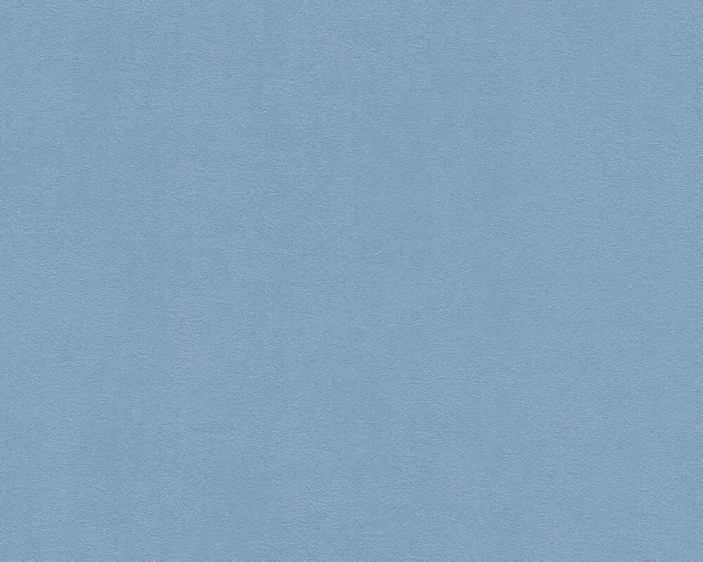A.S. Création papier peint Uni, bleu 372626