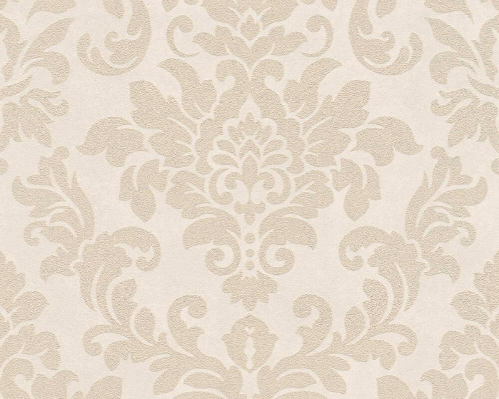A.S. Création Wallpaper Baroque, Beige, Cream, Metallic 372703