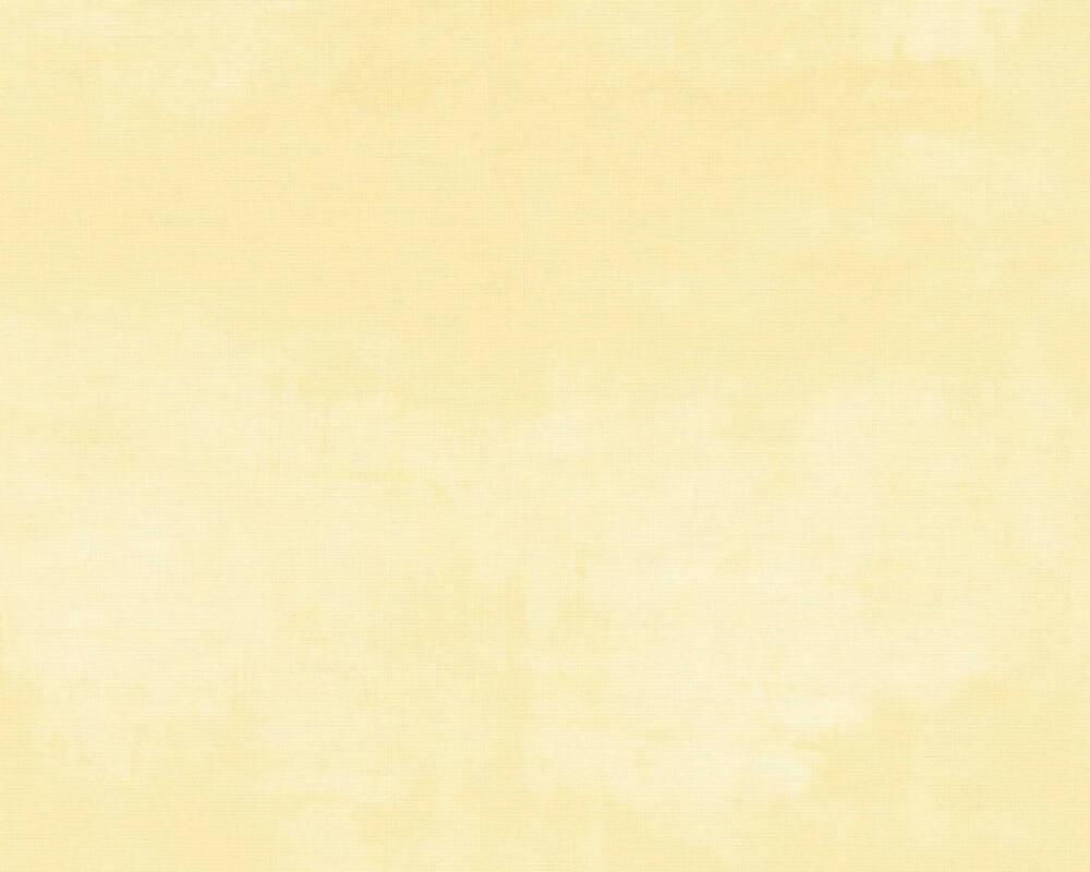 A.S. Création papier peint Uni, jaune 372782
