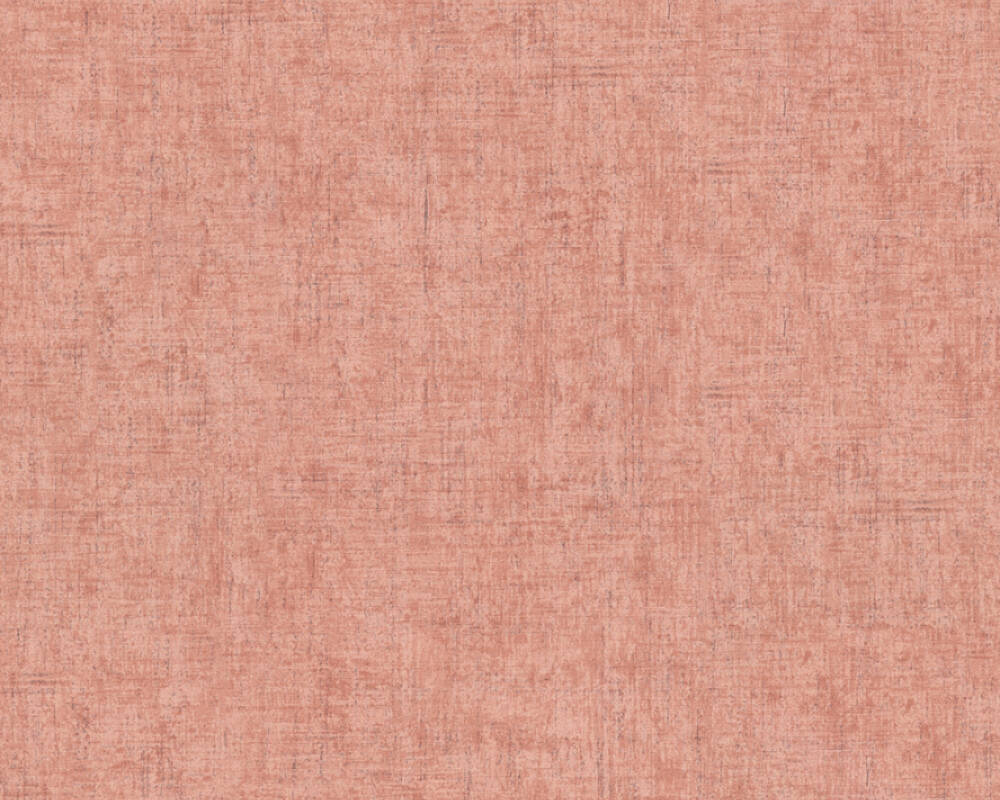 A.S. Création Wallpaper Uni, Orange, Pink, Red 373343