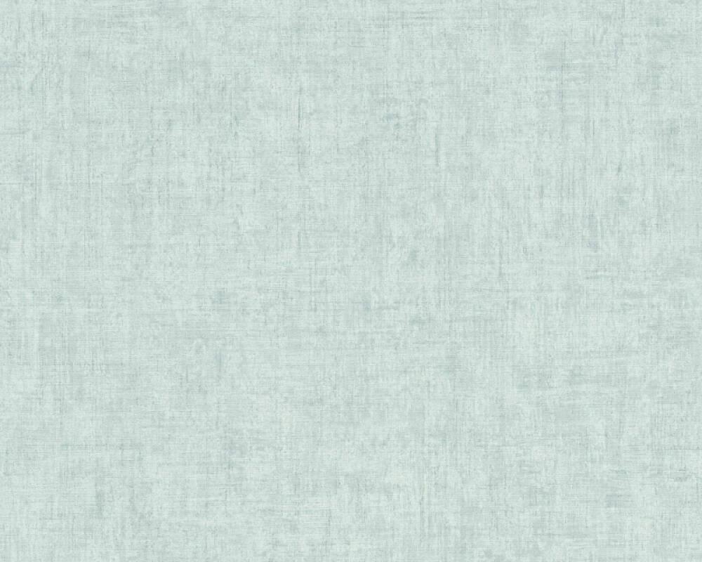 A.S. Création papier peint Uni, bleu 373345