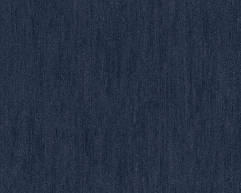 A.S. Création papier peint Uni, bleu 373377