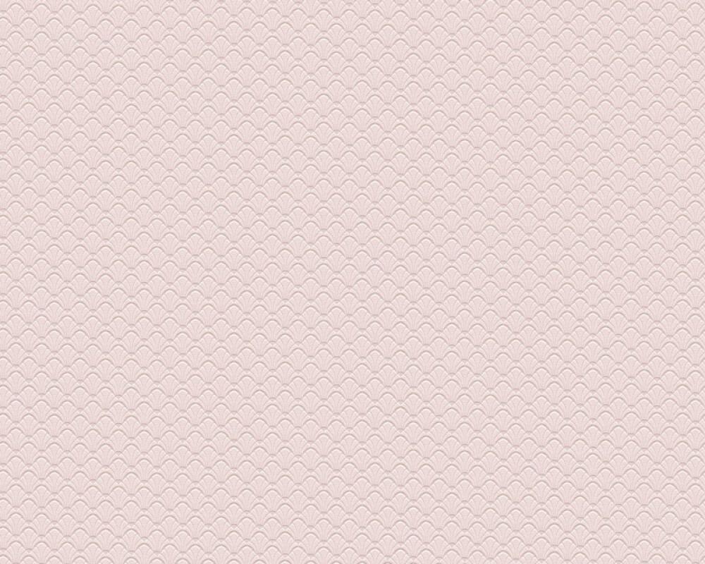 A.S. Création papier peint Uni, rose 373642