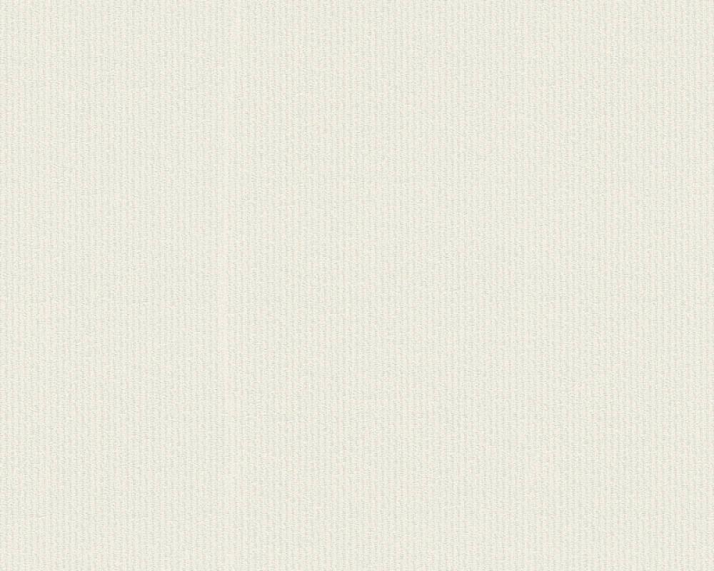 A.S. Création papier peint Uni, blanc, crème 373651