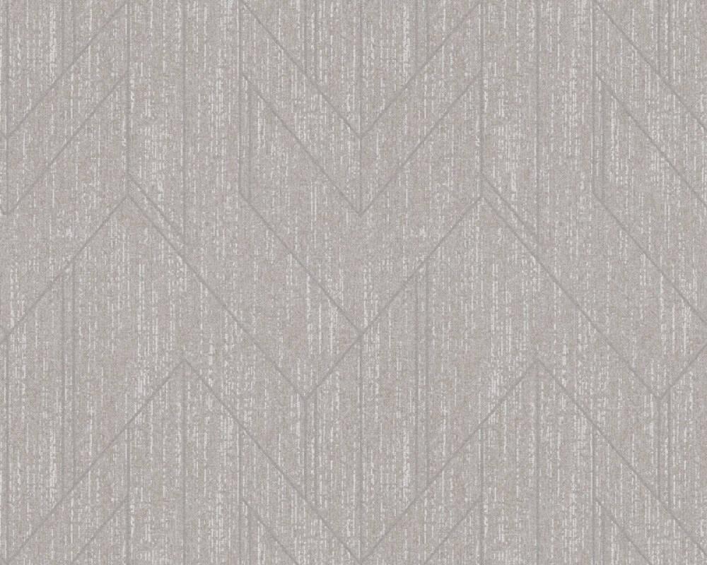 Architects Paper Tapete Grafik, Grau, Metallics, Silber 373694