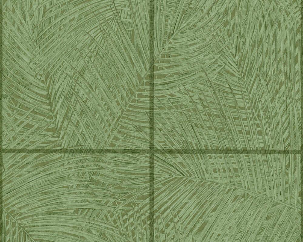 A.S. Création papier peint Tuile, vert 373721