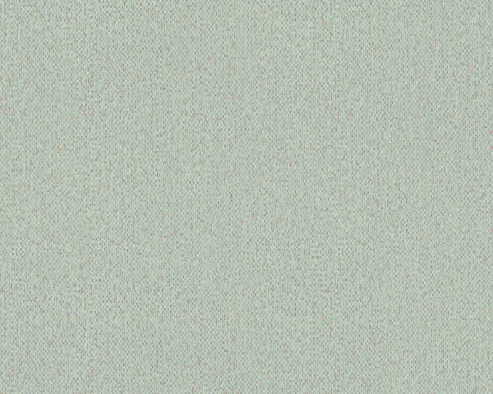 A.S. Création papier peint Graphique, orange, vert 373744