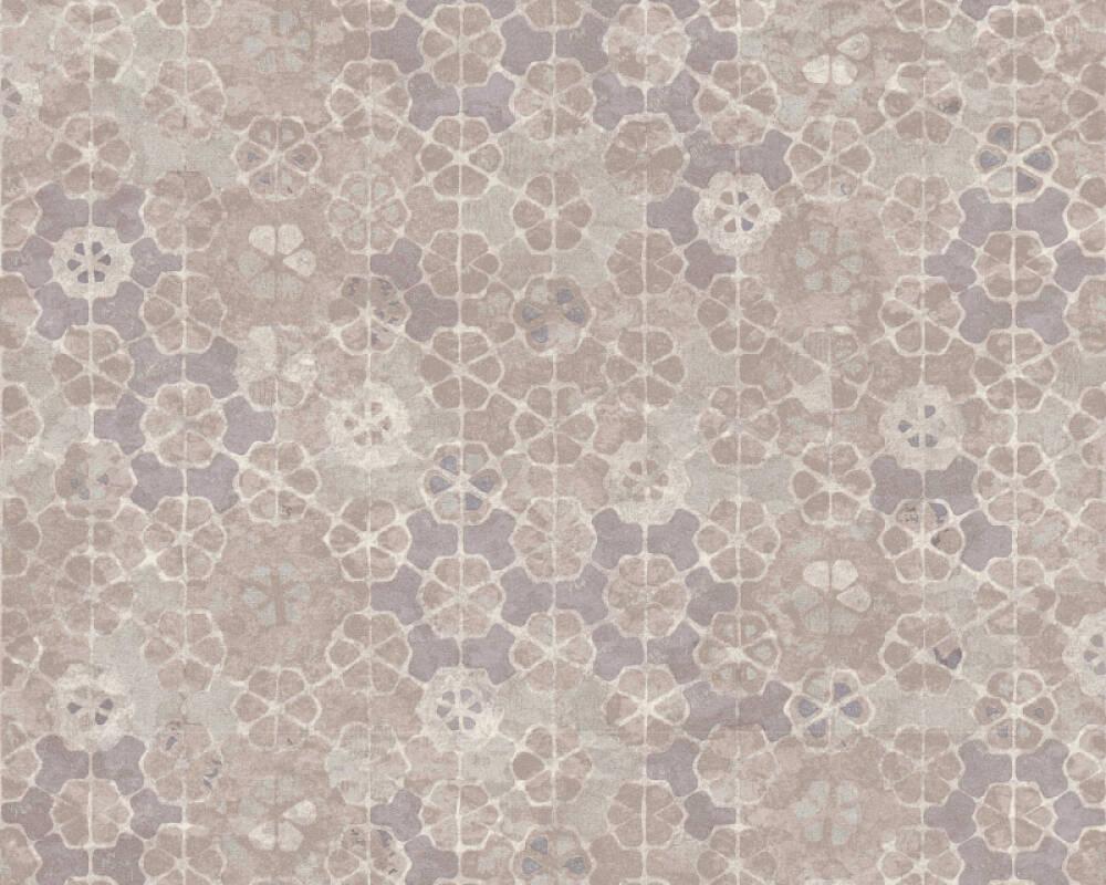 Livingwalls Tapete Grafik, Grau, Weiß 373912