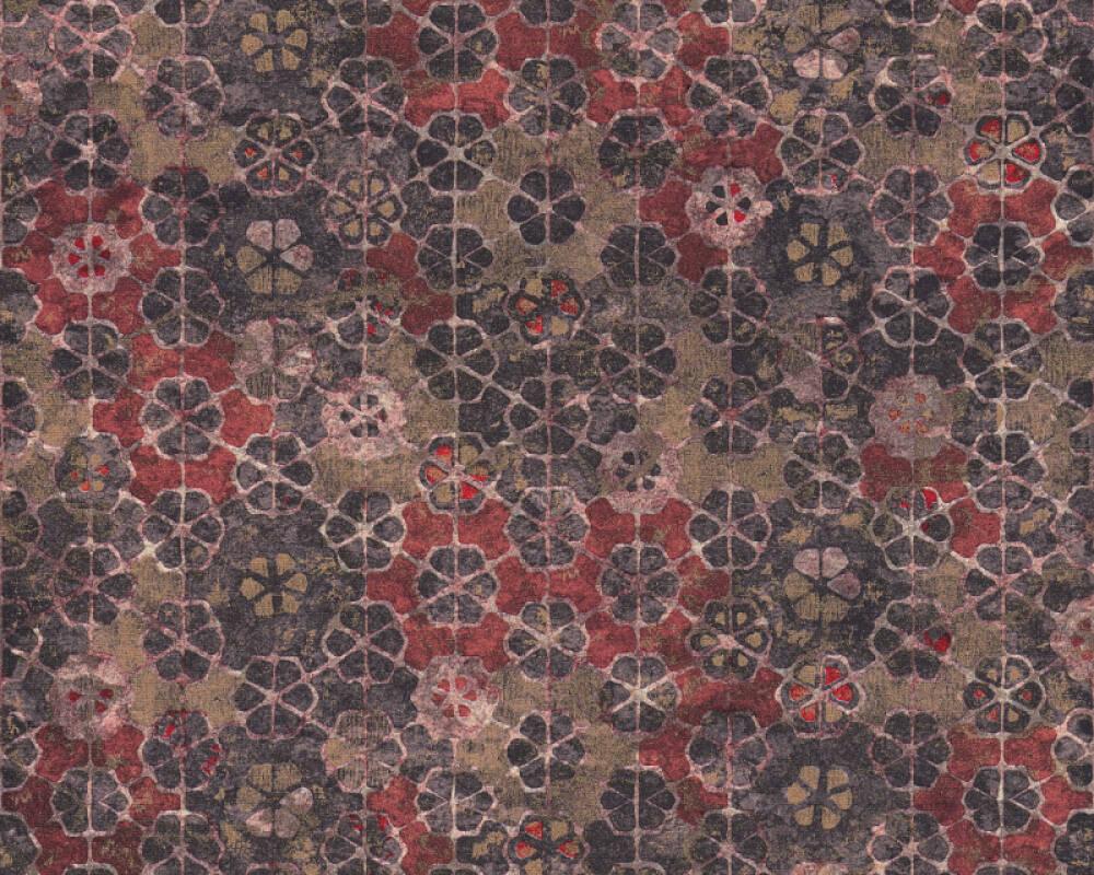 Livingwalls Tapete Grafik, Braun, Kupfer, Metallics, Rosa 373913
