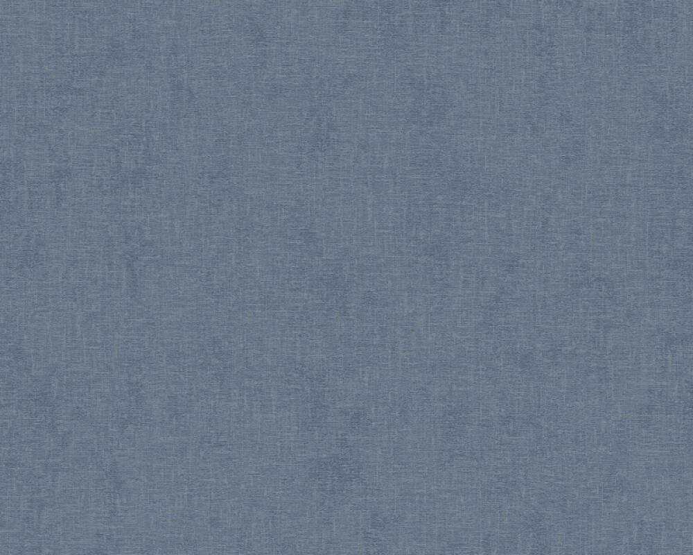 Livingwalls Tapete Uni, Blau 373954