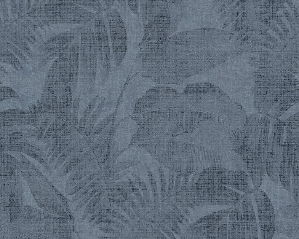 Livingwalls Tapete Dschungel, Blau 373965