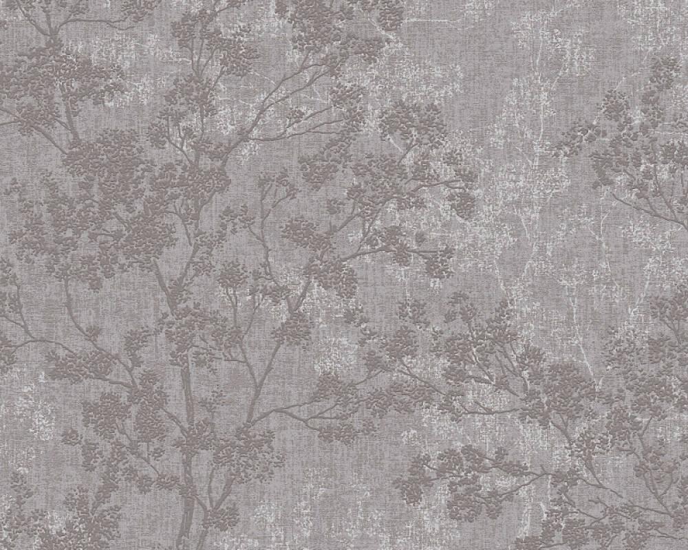 Livingwalls papier peint Floral, beige, gris, marron, taupe 373971