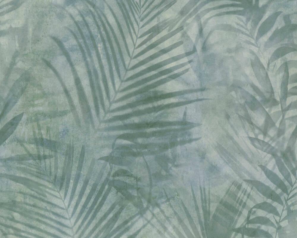 A.S. Création Tapete Dschungel, Grau, Grün 374111