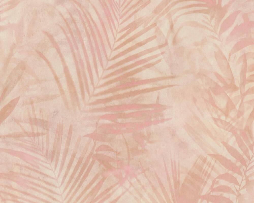 A.S. Création Wallpaper Jungle, Beige, Cream, Pink 374114