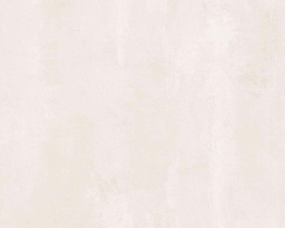 A.S. Création Tapete Uni, Creme, Grau 374124