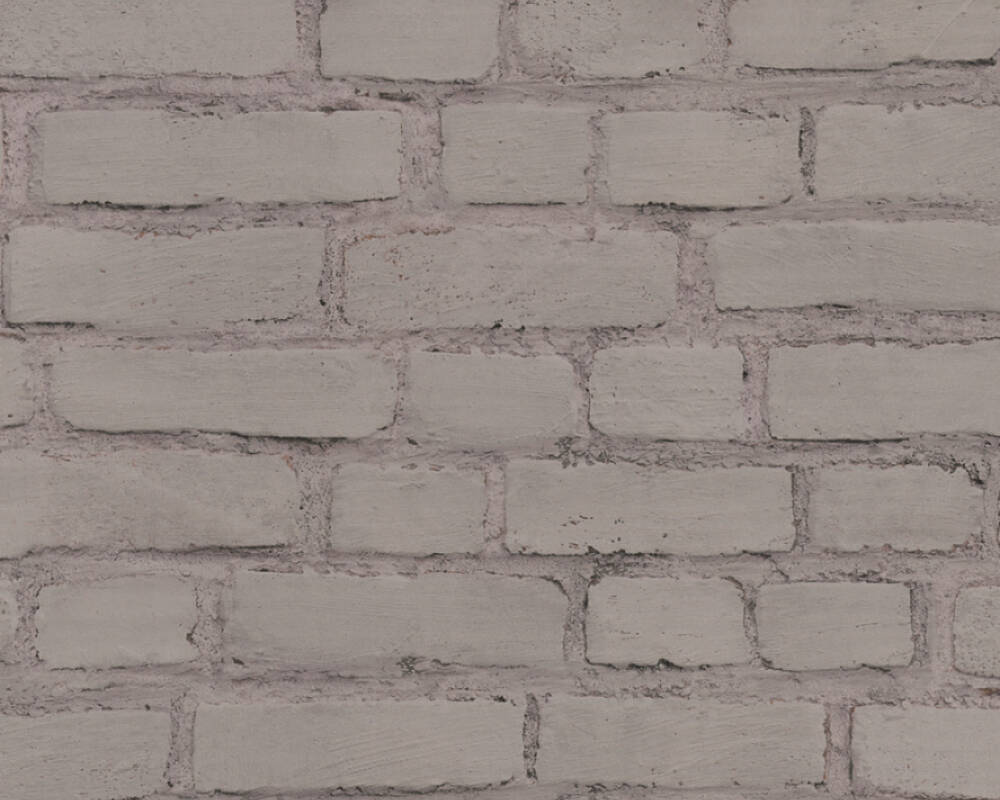 A.S. Création Обои Под камень, Серыe, Черные 374143