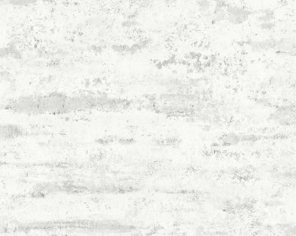 A.S. Création Tapete Uni, Weiß 374152