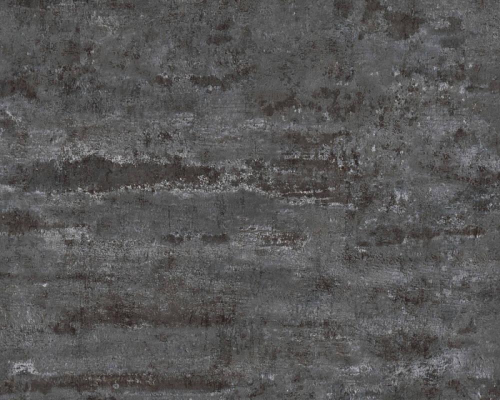 A.S. Création Tapete Uni, Schwarz 374154