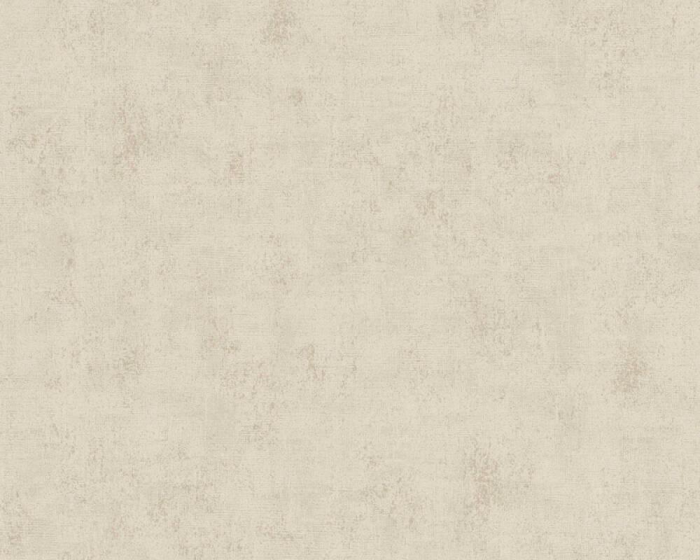 A.S. Création papier peint Uni, beige, gris, taupe 374165