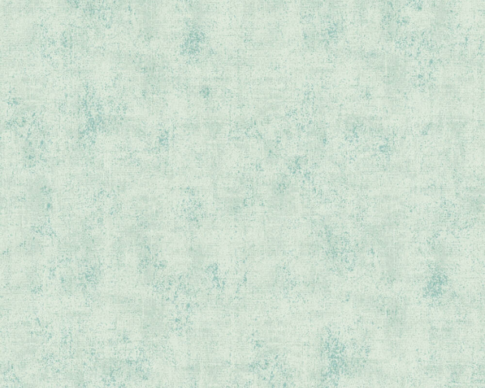 A.S. Création Tapete Uni, Blau, Grün, Türkis 374168