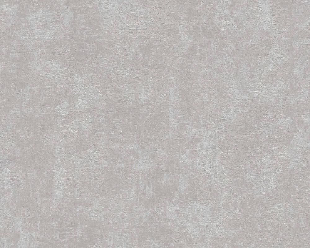 Livingwalls papier peint Uni, gris 374182