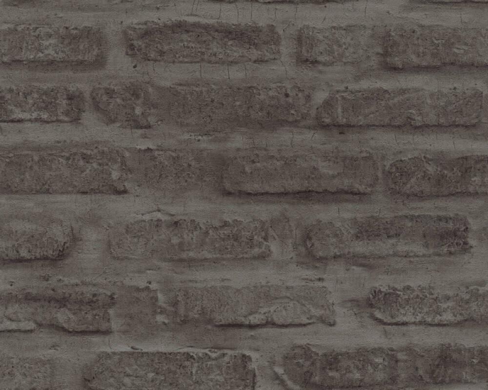 Livingwalls papier peint Pierre, gris, noir 374223