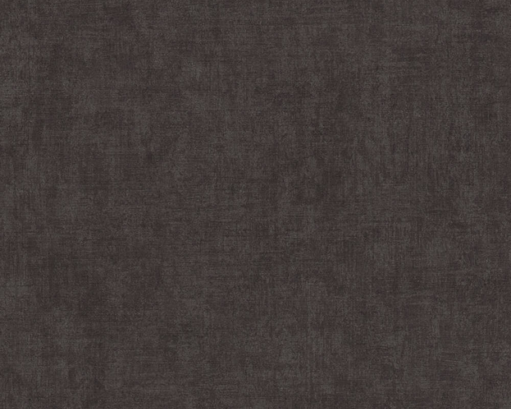 Livingwalls Wallpaper Uni, Black 374235