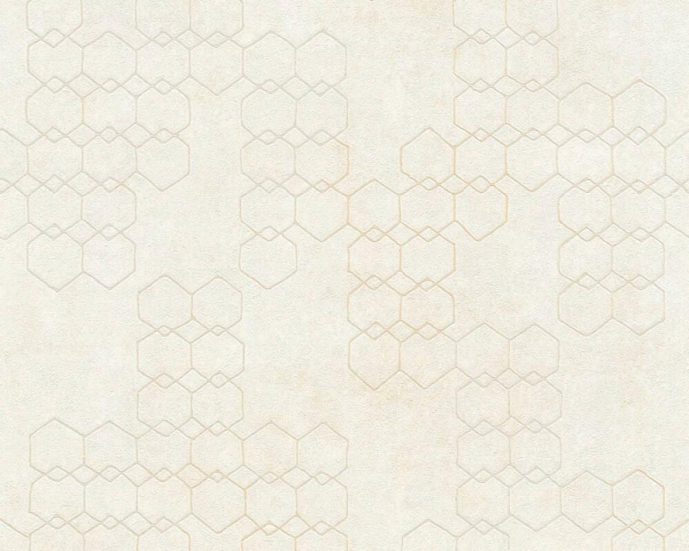 Livingwalls Обои Графика, Белые, Кремовые, Серыe 374241