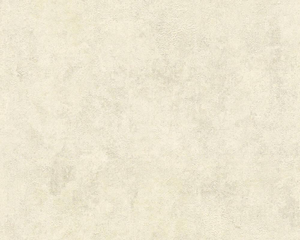 Livingwalls Обои Уни, Кремовые, Металлик, Серебро 374252