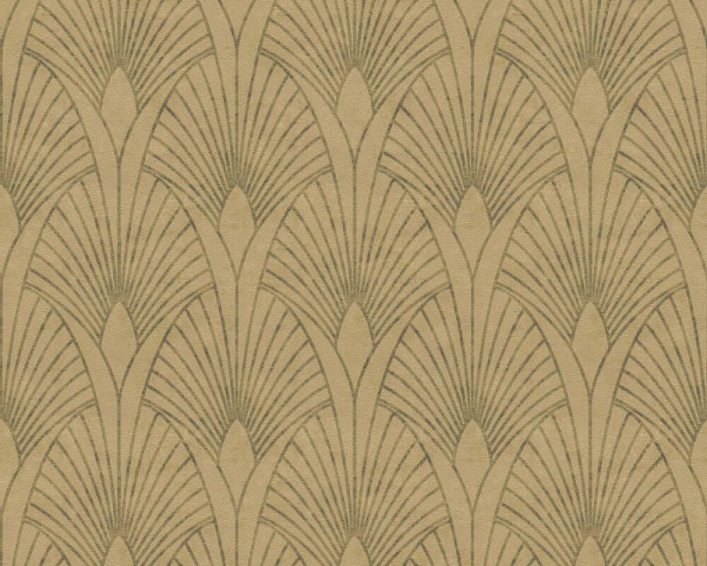 Livingwalls papier peint Baroque, beige, marron, métallique, or 374272