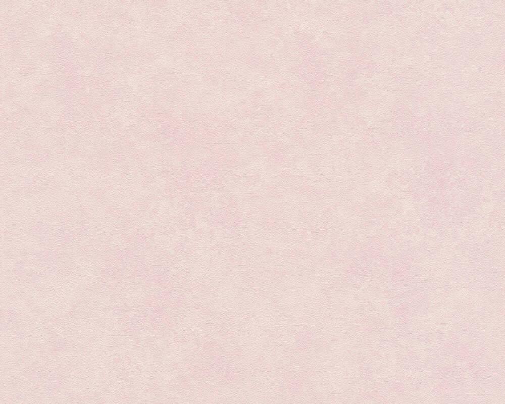 A.S. Création Wallpaper Uni, Pink, Purple 374674