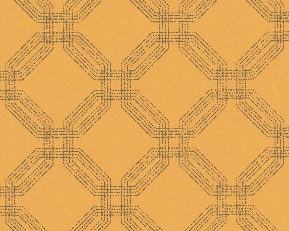 A.S. Création Tapete Grafik, Gelb, Gold, Metallics 374775