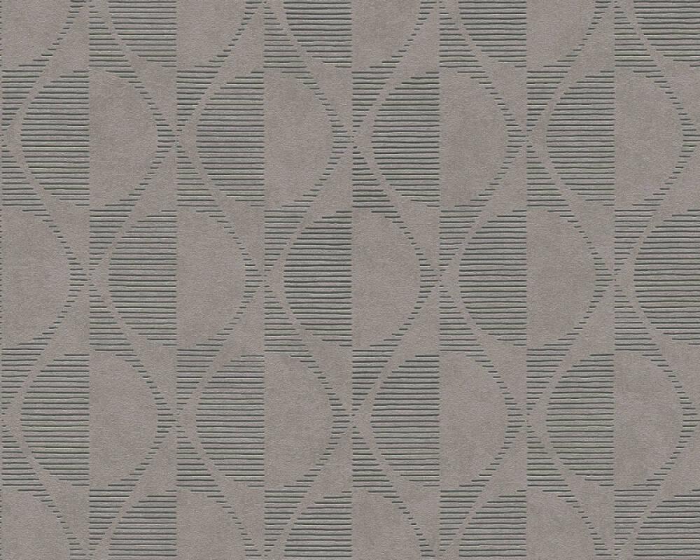 A.S. Création Tapete Grafik, Beige, Braun, Grau, Schwarz 374785