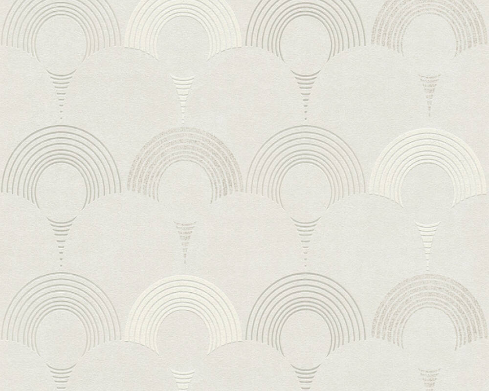A.S. Création Wallpaper Graphics, Beige, Cream, Grey, Taupe 374801