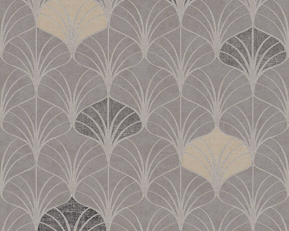 A.S. Création Wallpaper Graphics, Beige, Brown, Grey, Taupe 374832