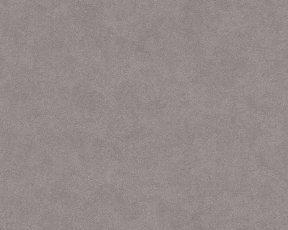 A.S. Création Wallpaper Uni, Beige, Grey, Taupe 375018