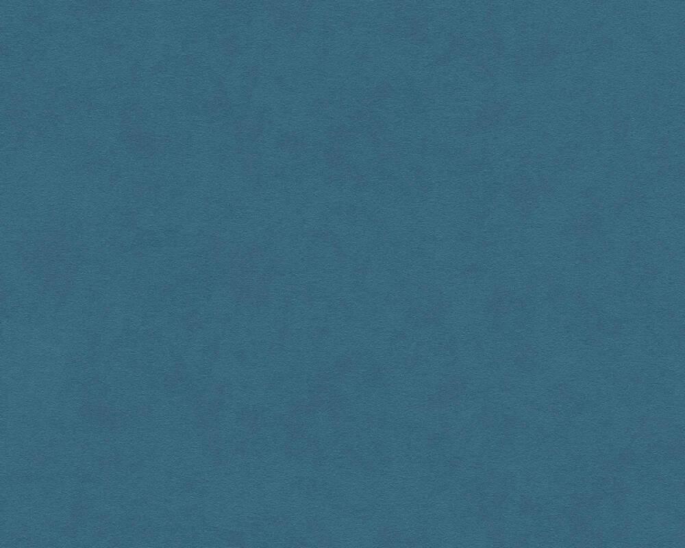 A.S. Création Wallpaper Uni, Blue 375025