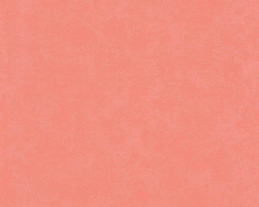 A.S. Création Wallpaper Uni, Orange, Red 375049