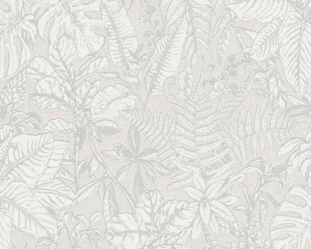 Daniel Hechter Tapete Landhaus, Floral, Grau, Weiß 375201