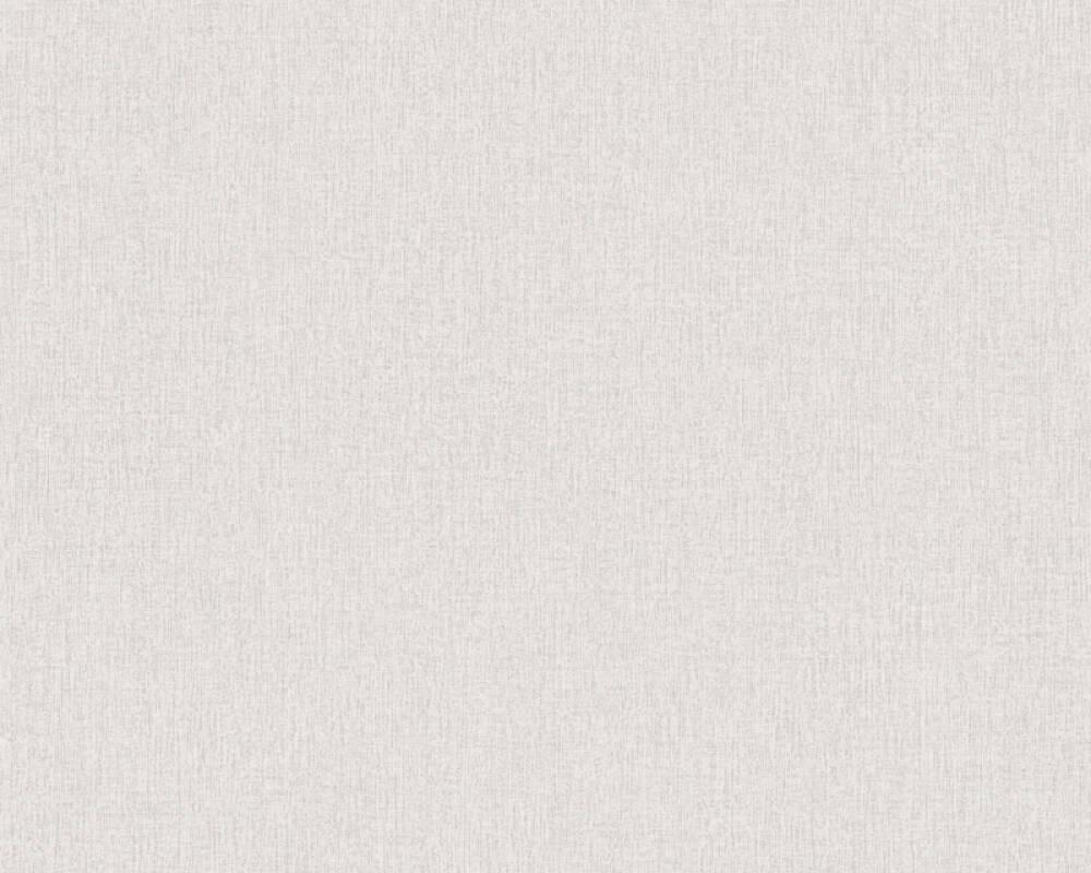 Daniel Hechter Tapete Uni, Grau, Weiß 375212
