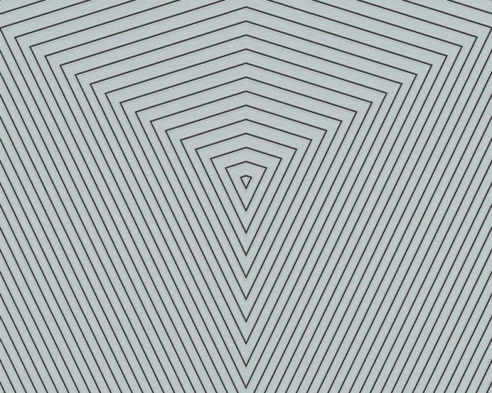 Daniel Hechter Tapete Grafik, Blau, Grün, Kupfer, Metallics 375224