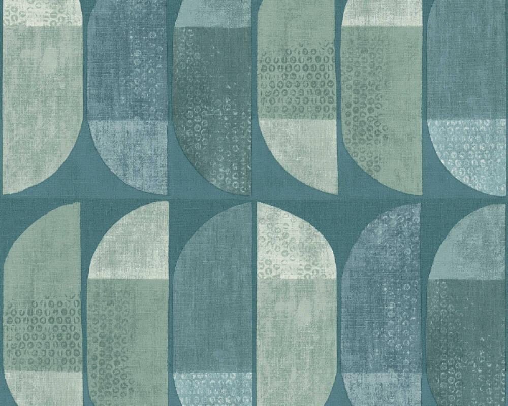 Private Walls Wallpaper Graphics, Blue, Green 375313