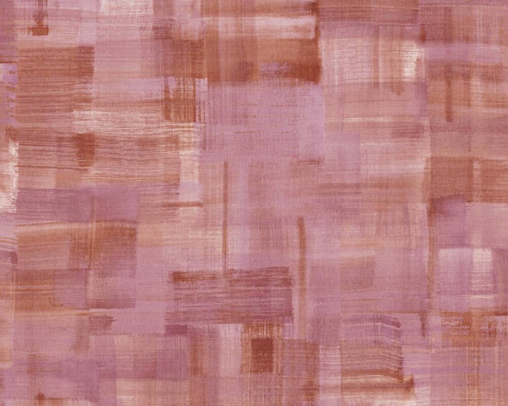 Private Walls Tapete Uni, Rot, Violett 375323
