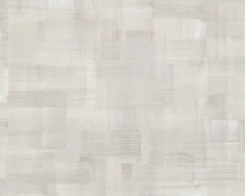 Private Walls Wallpaper Uni, Beige, Grey 375324
