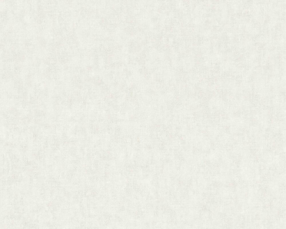 Private Walls Wallpaper Uni, Grey, White 375351