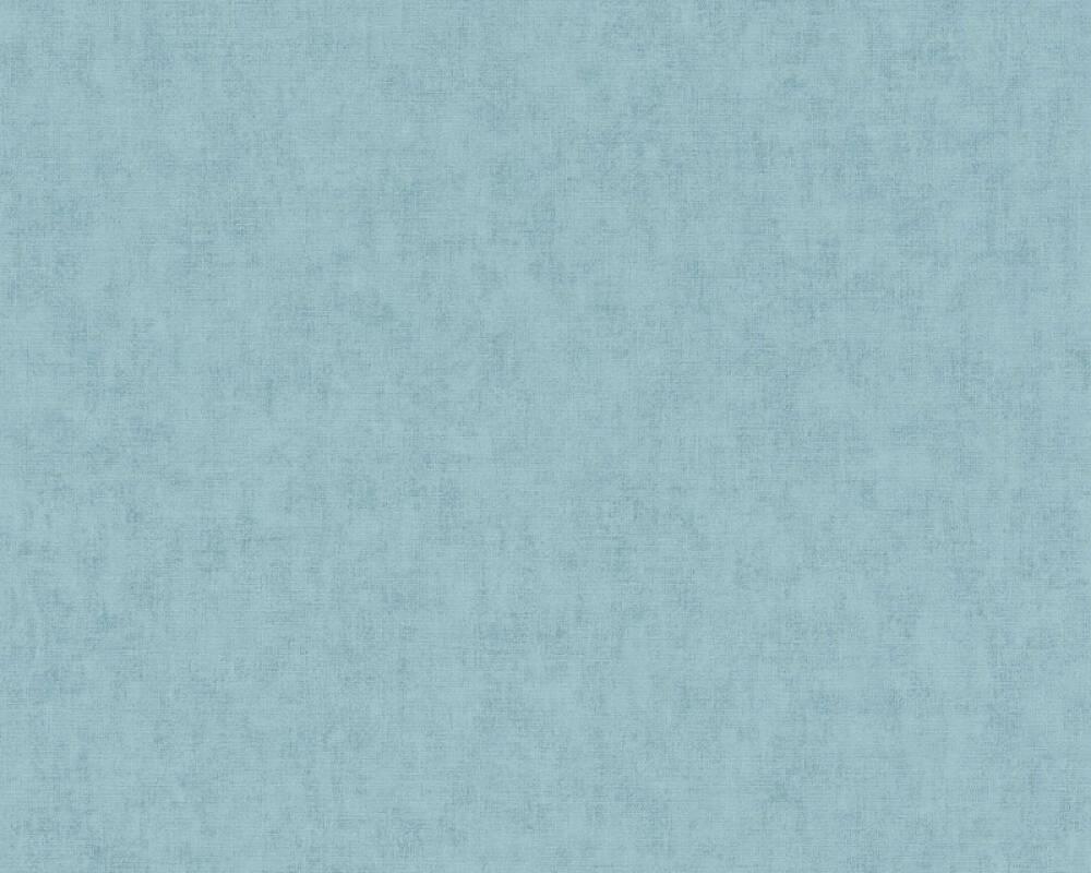 Private Walls Tapete Uni, Blau 375358