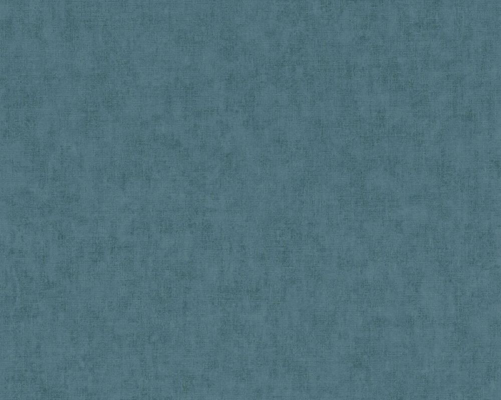 Private Walls Wallpaper Uni, Blue 375363
