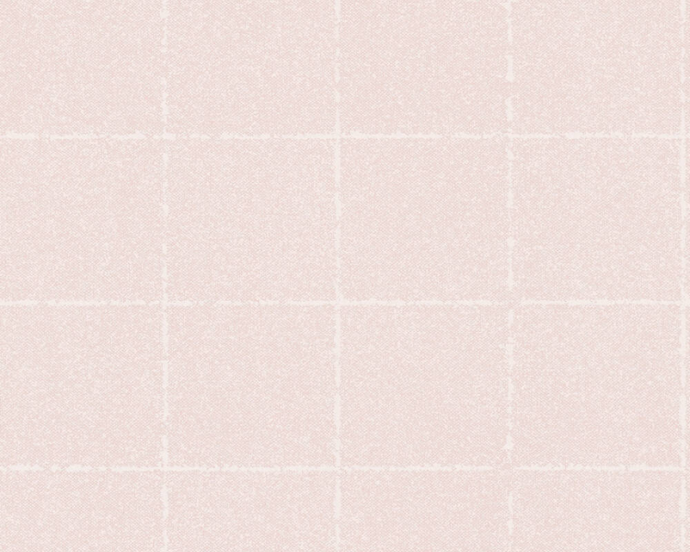 A.S. Création Tapete Landhaus, Floral, Creme, Rosa 375513