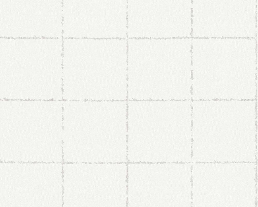 A.S. Création Tapete Landhaus, Floral, Beige, Weiß 375515